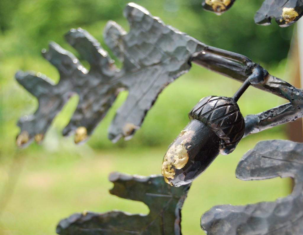 Four Oaks sculpture detail