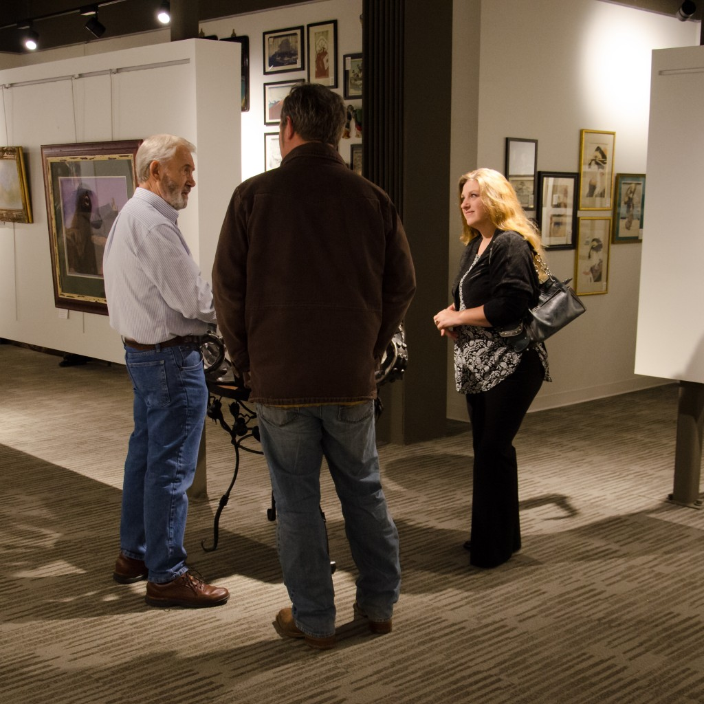 Ozarks Regional Arts Council Exhibition, The Sheid Community Development Center, Arkansas State University-Mountain Home January 7, 2016 | www.breakfastinamerica.me | Copyright © Gary Allman, all rights reserved